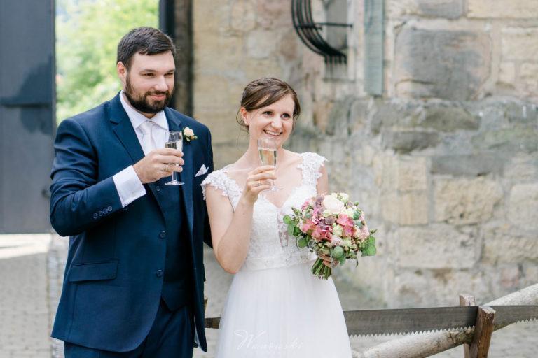 Hochzeit von Olga & André auf Schloss Heidecksburg